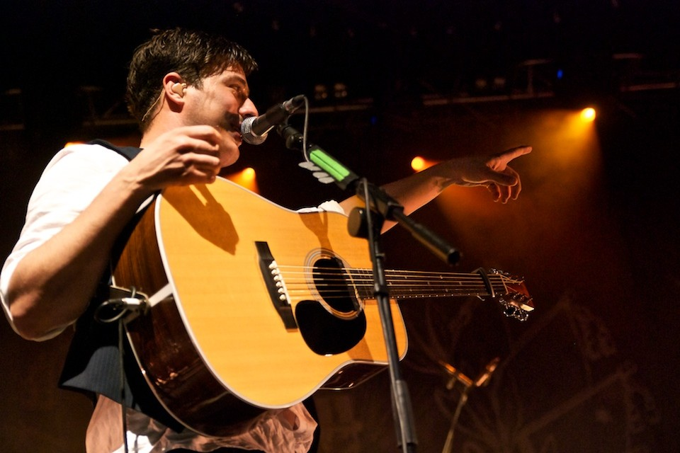 Konzertfotos: Mumford & Sons – 2010