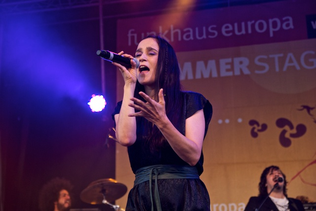 Julieta Venegas live im Tanzbrunnen Köln