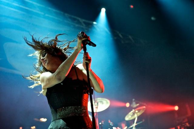 Within Temptation live im E-Werk Koeln