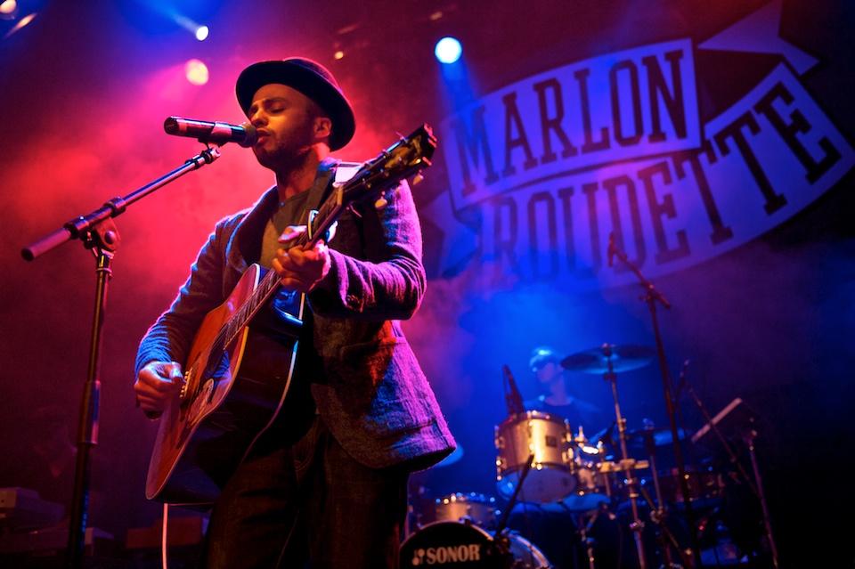 Konzertfotos: Marlon Roudette – 2012