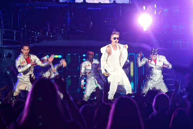 Justin Bieber live in der Lanxess Arena Koeln