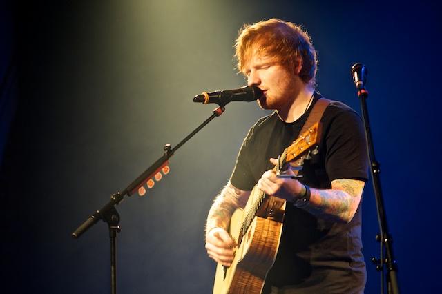 Ed Sheeran live in der Kulturkirche Koeln