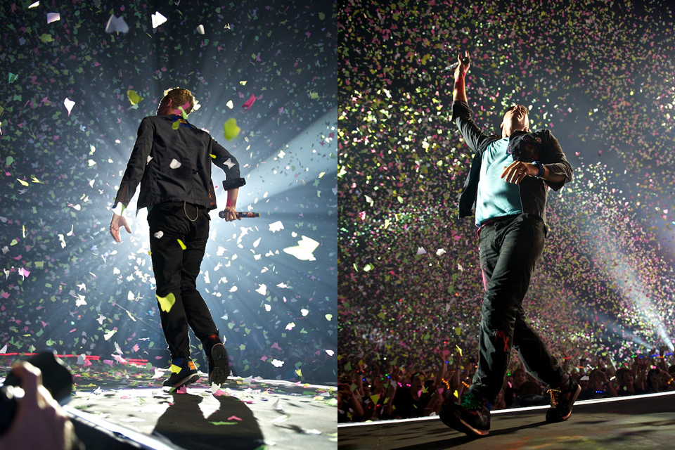 Konzertfotos: Coldplay – 2012